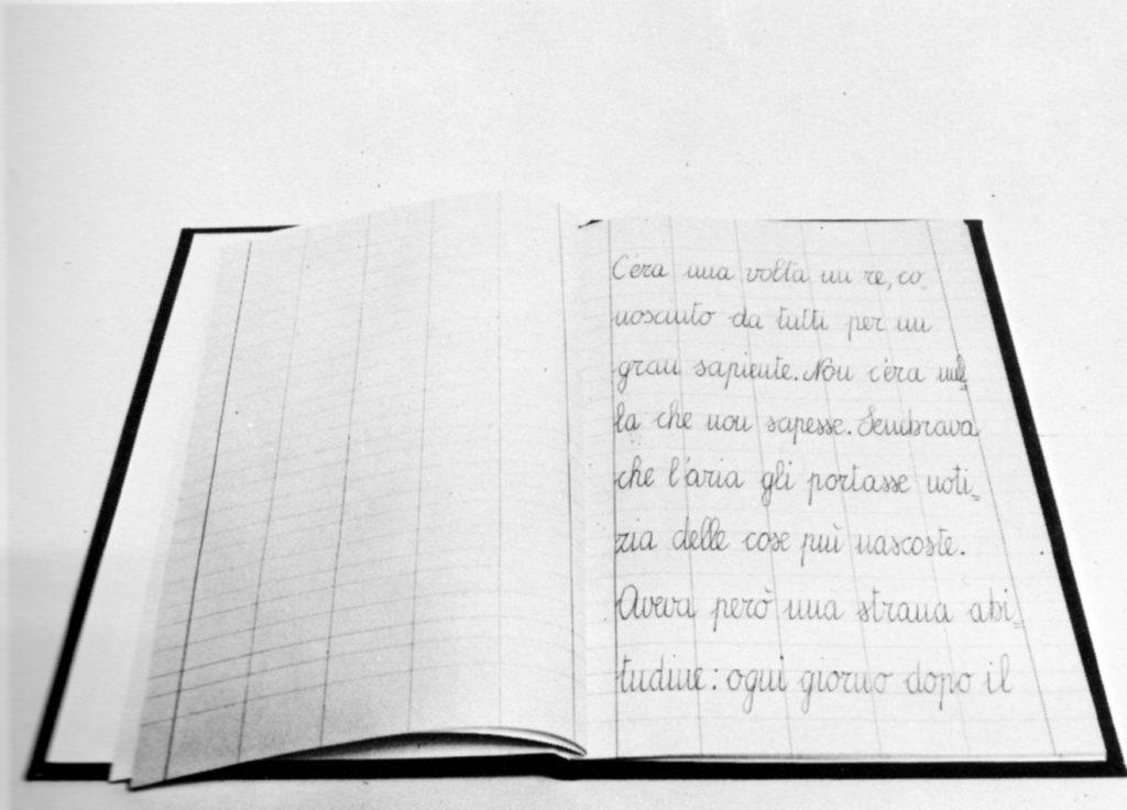 Il Serpente Bianco, 1969, manoscritto