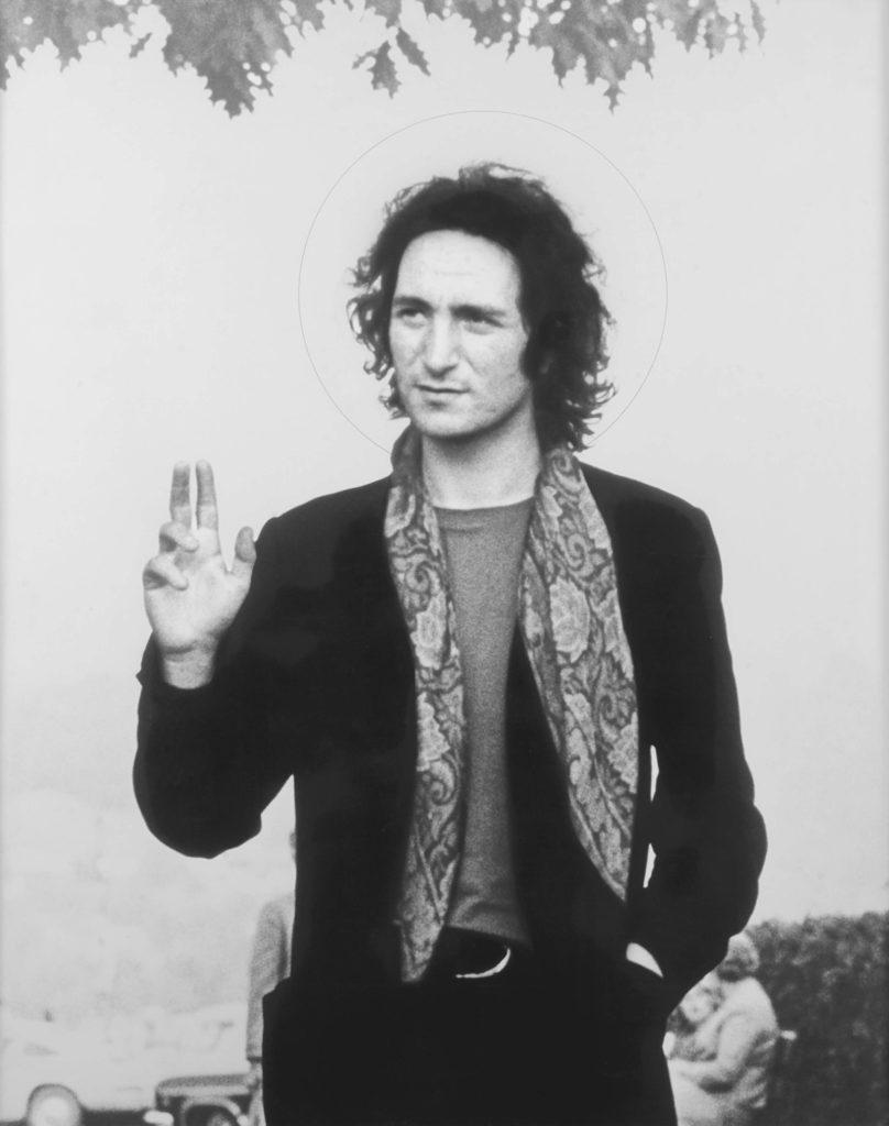 Benedizione di Lucerna, 1970, fotografia, 110 x 88 cm