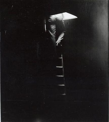 saliscendendo, 1972, fotografia, 100x130 cm