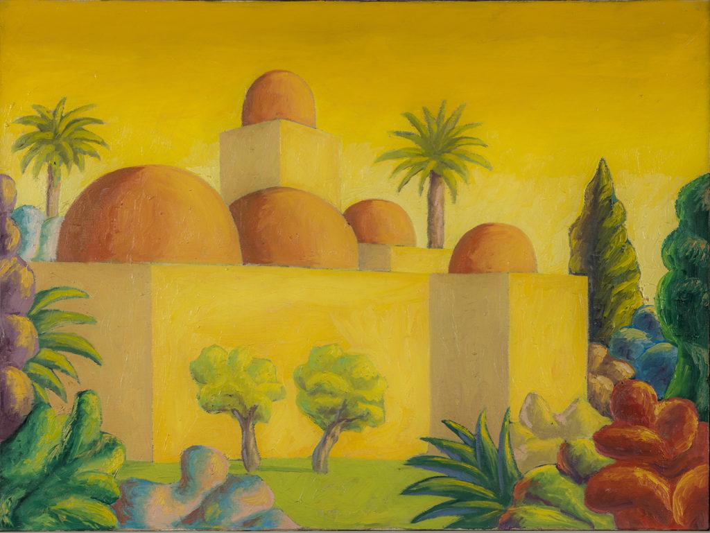 San giovanni degli Eremiti, 1982, olio su tela, 59,5 x 79,5 cm