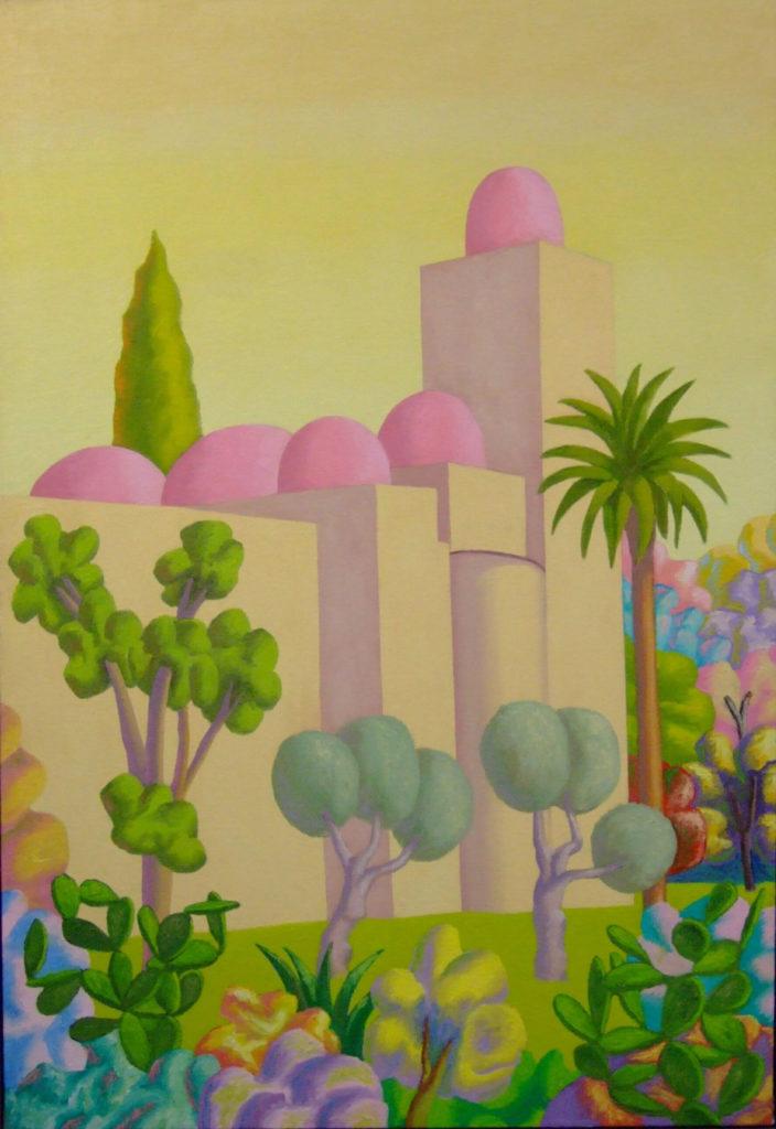 Senza titolo, 1983, 199 x 136 cm