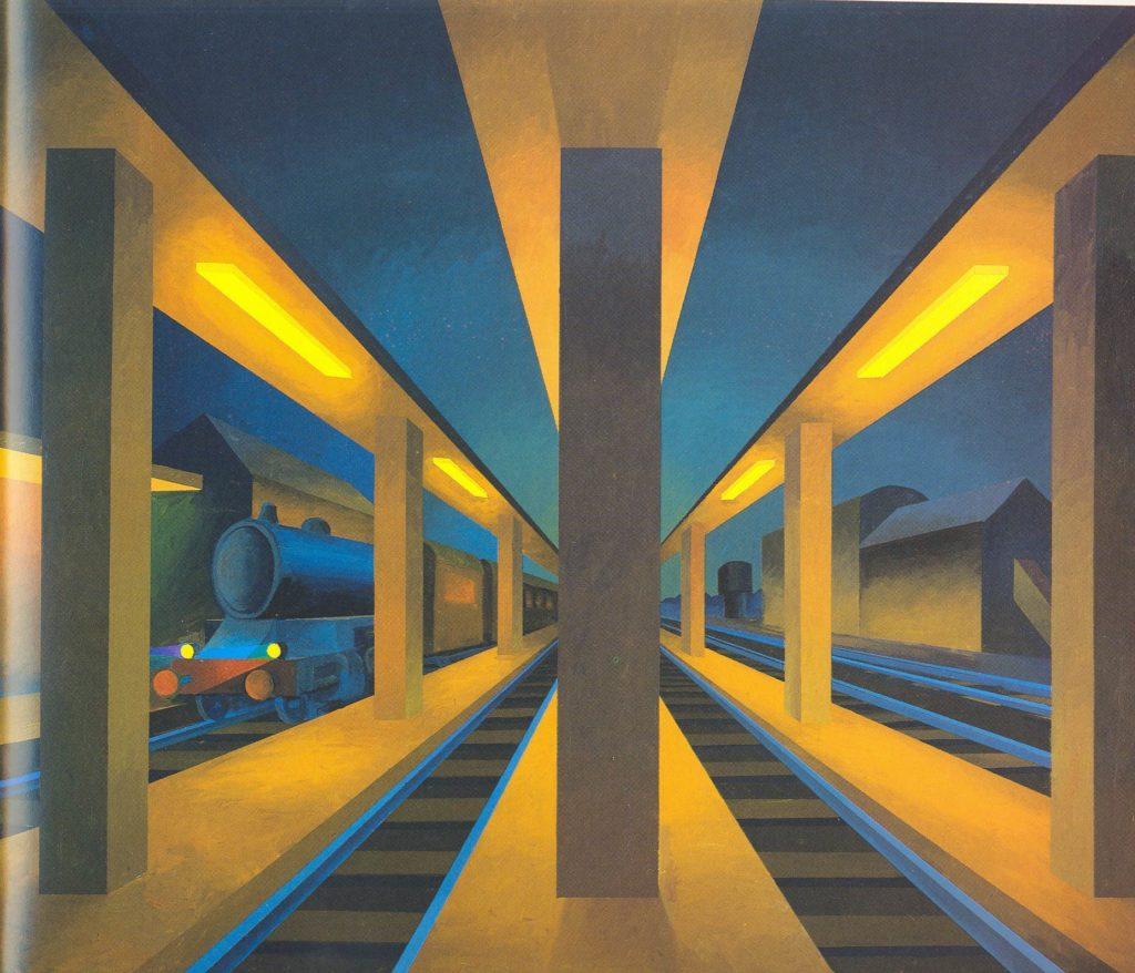Stazione, 1992 150 x 180 cm