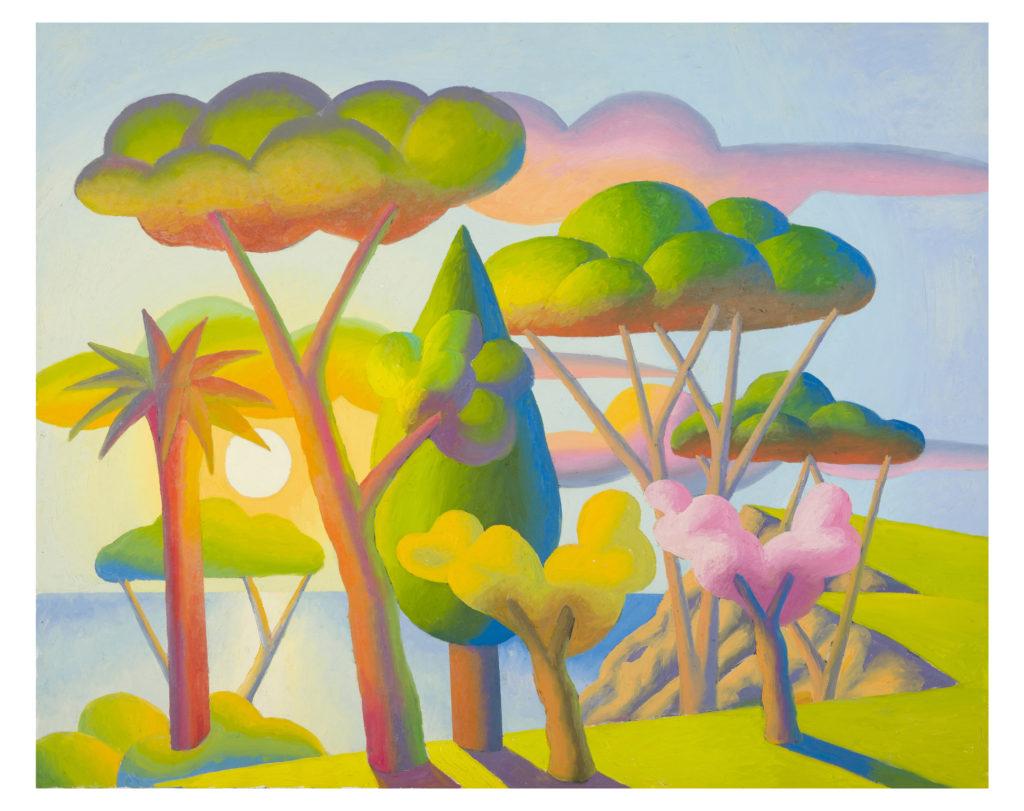 Il Mattino, 2013, olio su tela, 80 x 100 cm